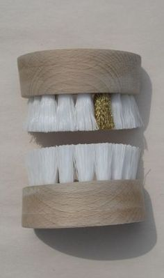 """Tooth """"brushes""""... very clever #deltadental"""