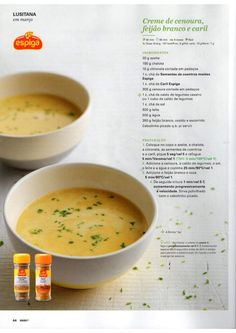 Revista bimby 2015 março por Ricardo Fernandes Baby Food Recipes, Soup Recipes, Healthy Recipes, Kitchen Time, Kitchen Things, Happy Foods, Betty Crocker, Cheeseburger Chowder, Make It Simple