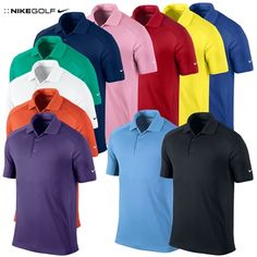 Nike Victory Golf Polo Shirt-Logo Sleeve
