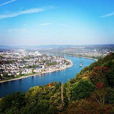 #view #coblenz #koblenz #castle #ehrenbreitstein