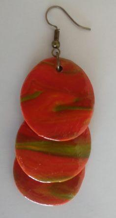 (155)7+++ Watermelon, Jewelery, Drop Earrings, Community, Color, Gallery, Board, Etsy, Earrings