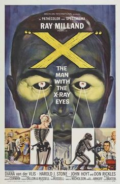 Roger Corman / The Man With the X-Ray Eyes (1963)
