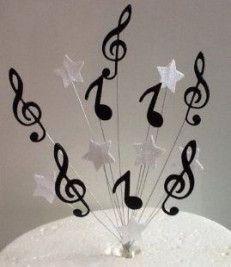 Trendy Ideas for music theme birthday cake party ideas Music Centerpieces, Music Party Decorations, Party Centerpieces, Party Themes, Ideas Party, Diy Music, Music Crafts, Music Music, Music Theme Birthday