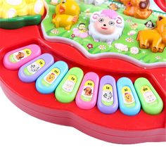 1 PC Baby Musical Toys Educational Animal Farm Piano Developing Musical Toys with Animal Sound Cute Mini Sounding Toys New Brand Baby Musical Toys, Electronic Toys, Farm Animals, Mobiles, Computers, Piano, Bluetooth, Musicals, Headphones