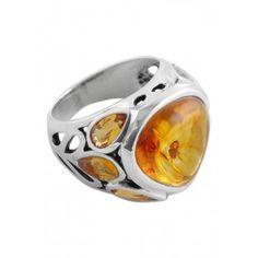 Heirloom Amber Ring