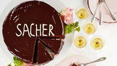 Sacherkakku - K-ruoka Chocolate Fondue, Cake, Desserts, Recipes, Food, Pastel, Deserts, Kuchen, Cakes