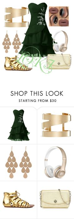 """Prom LOKI Inspired"" by caqcake ❤ liked on Polyvore featuring Isabel Marant, Irene Neuwirth and Tory Burch"