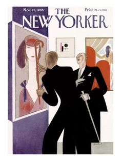 The New Yorker Cover - November 29, 1930 .