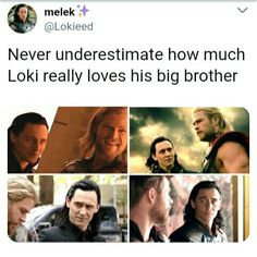 Thor & Loki. someone save me *yells with tears* *stops abruptly* actually I am good in here...