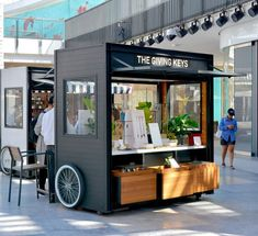 Sand Mountain is a full-service design & fabrication firm, specializing in RMU's, carts, kiosks, and display fixtures for the specialty retail industry. Kiosk Design, Cafe Shop Design, Booth Design, Store Design, Signage Design, Design Design, Mini Cafeteria, Food Kiosk, Mobile Coffee Shop