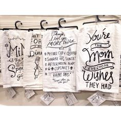 Love these hilarious new tea towels by @primitivesbykathy! There are so many, we can't choose our favorite!