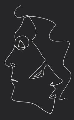 Face n face minimal drawings, art drawings, subtle tattoos, pen art, minima Micron Pen Art, Wire Art, Wire Sculpture, 3d Pens, Minimalist Drawing, Drawings, Minimal Drawings, Animated Drawings, Art Wallpaper