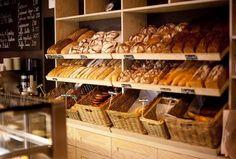 An assortment of bread