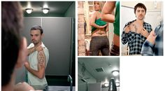 Check out this tattooed mirror guerrilla marketing campaign which gives people the chance to see what they'd look like with a tattoo. Cool!