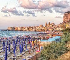 ADORE the ancient seaside city of #cefalù   #sicilianjourney #sicily #italy #travel      #beachlife #mytinyatlas #wanderlust #letsgoplaces #sicilymood #sicilyismylove #italy_photolovers #cefaluiloveyou #travelers