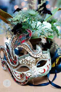 Masquerade Wedding Wren PhotographyI Dont Think I Would