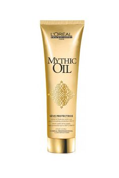 L'Oréal Professionnel 's latest hair beautifier primes and preps your hair in one product. That means when you reintroduce those hot tools into your hair regimen this fall, you won't sizzle your strands.L'Oreal Professionnel  Mythic Oil Seve Protectrice, $32, available in salons.