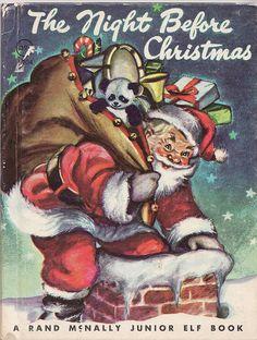 Night Before Christmas - Rand McNally Junior Elf Book--the Night Before Christmas.