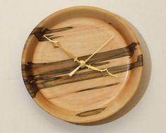 Ambrosía Arce dio vuelta el reloj de pared de por WoodArtForLiving