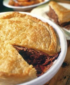 Venison Pie, Venison Recipes, Meat Recipes, Appetizer Recipes, Baking Recipes, Dessert Recipes, Brunch Recipes, Dinner Recipes, Cooking