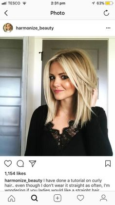 haircuts for to medium length lob hair everyday hairstyles 2322