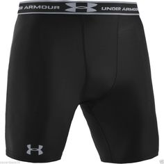 461caa1246 Under Armour 1201164 HeatGear Compression Shorts Black Small 1201164001SM  for sale online | eBay