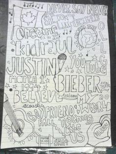 Justin Bieber fan art, I tried