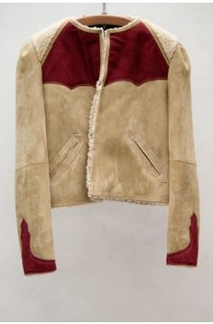 Isabel Marant - a delightful take on a shearling jacket Parisienne Chic, Tweed, Streetwear, Shearling Jacket, Suede Jacket, Cool Jackets, Winter Wardrobe, Well Dressed, Passion For Fashion