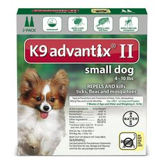 Ax Advantixii Dog 2mon 4-10lb Grn ** You can get more details by clicking on the image. (This is an affiliate link and I receive a commission for the sales)