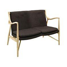 Modernist Loveseat Chair   dotandbo.com