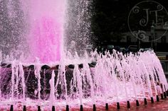 A pink summer water fountain :)