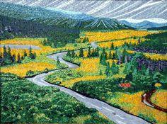 MOsaic Landscape Drokes by Terry Nichols