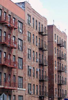 Apartment houses in Inwood, Manhattan.