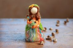 Hey, I found this really awesome Etsy listing at https://www.etsy.com/listing/163882870/needle-felted-autumn-fairy-angel-harvest