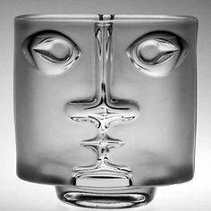 Buy * AN ORGANIC SHAPED CZECH ART GLASS VASE, PROBABLY DESIGNED BY JAN BERANEK FOR SKRDLOVICE GLASSWORKSfor R2,450.00