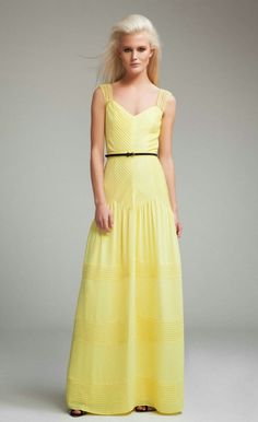 Effortless Anthropologie: Afternoon delight: The Ideal Sunshine Maxi