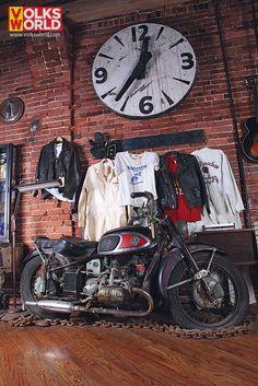 Von Dutch Motorbike, VW engine, Harley Davidson XA frame, One of a Kind!
