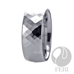 Plangsten ring: FERI Plangsten line is like no other Tungsten based jewellery being offered today. The exclusive Plangsten line is the result of 15 months of experimentation of metal compounds to improve the resistance of Tungsten Carbide. Tungsten Carbide Rings, Optical Glasses, Selling On Pinterest, Perfect Christmas Gifts, Luxury Jewelry, Jewelry Rings, Jewlery, Sterling Silver Jewelry, Gemstone Rings