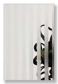 canale figuurglas mat blanm