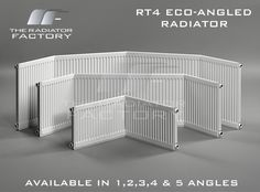 Round Top Eco Bay Window Radiator (Angled)