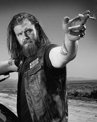 opie - sons of anarchy. Opie is my fav:) possibly because he somewhat a little resembles mr zakk wylde