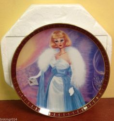 Danbury Mint High Fashion Barbie Plates Mattel Danbury Mint High