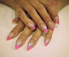 Pink and sparkling silver made by Kati Pakkanen!