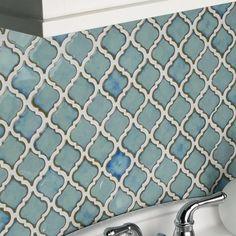 Pharsalia 2 x Porcelain Mosaic Tile in Marine By EliteTile Home Improvement Loans, Home Improvement Projects, Modern Modular Homes, Design Your Own Home, Kitchen Furniture, Modern Furniture, Kitchen Styling, Decor Interior Design, Mosaic Tiles