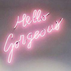 Baby Pink Aesthetic, Neon Aesthetic, Bedroom Wall Collage, Photo Wall Collage, Neon Wallpaper, Aesthetic Iphone Wallpaper, Pink Neon Sign, Pink Neon Lights, Pink Light