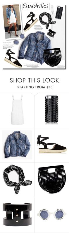 """Step Into Summer"" by barngirl ❤ liked on Polyvore featuring Topshop, Savannah Hayes, Point Sur, Karen Millen, Cult Gaia and Chanel"