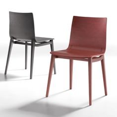 20e55bf3100 Emma chair with solid wood frame and plywood body - ARREDACLICK Oak Chairs,  Dining Chairs