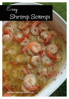 Shrimp Scampi Sauce Recipe BEST RECIPE EVER!!!