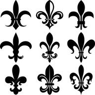 Fleur de Lis - idea to stencil on doors of armoire Silhouette Projects, Silhouette Cameo, Stencils, Diy Fleur, Symbol Tattoos, Tatoos, Paris Chic, Schmuck Design, Tatting
