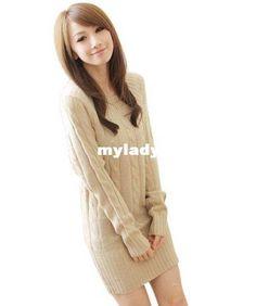 sweater dress...love the fall ^_^